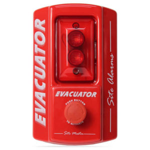 Evacuator Site Master Push Button