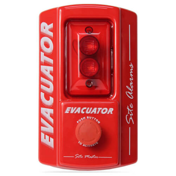 Evacuator Site Master Push Button