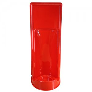 single fire extinguisher stand