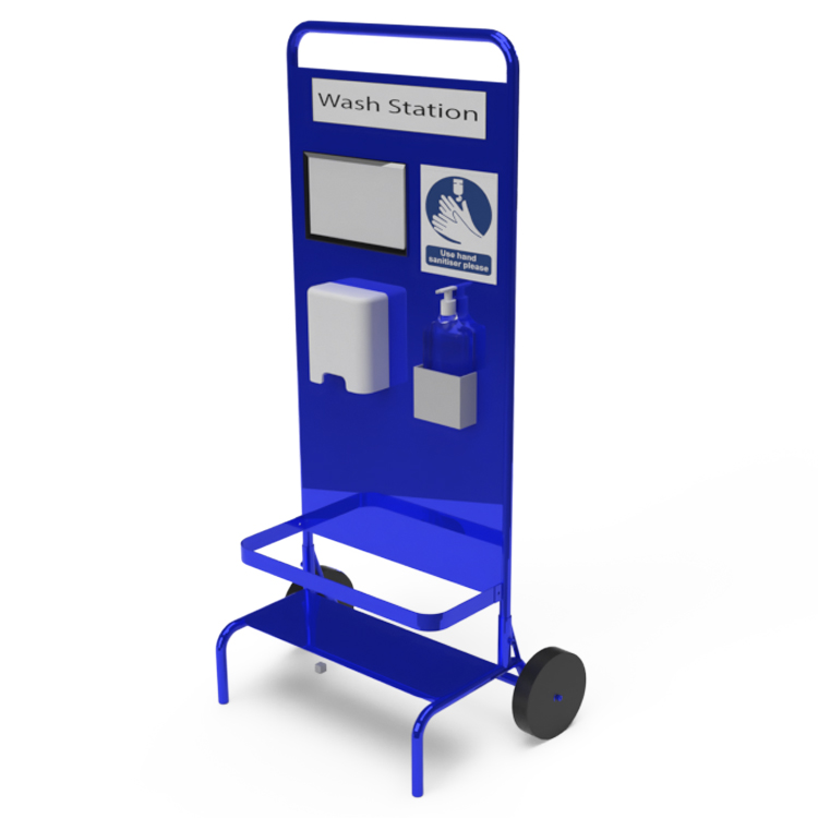 Sanitiser Station Trolley